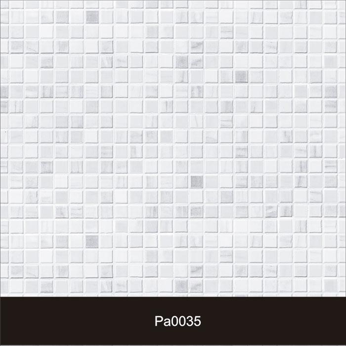 Papel de Parede Auto Adesivo Lavável Pastilha Pa0035 Branca  - Final Decor