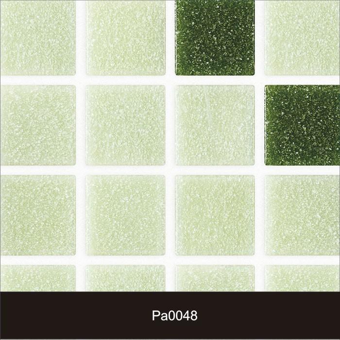 Papel de Parede Auto Adesivo Lavável Pastilha Pa0048 Verde  - Final Decor