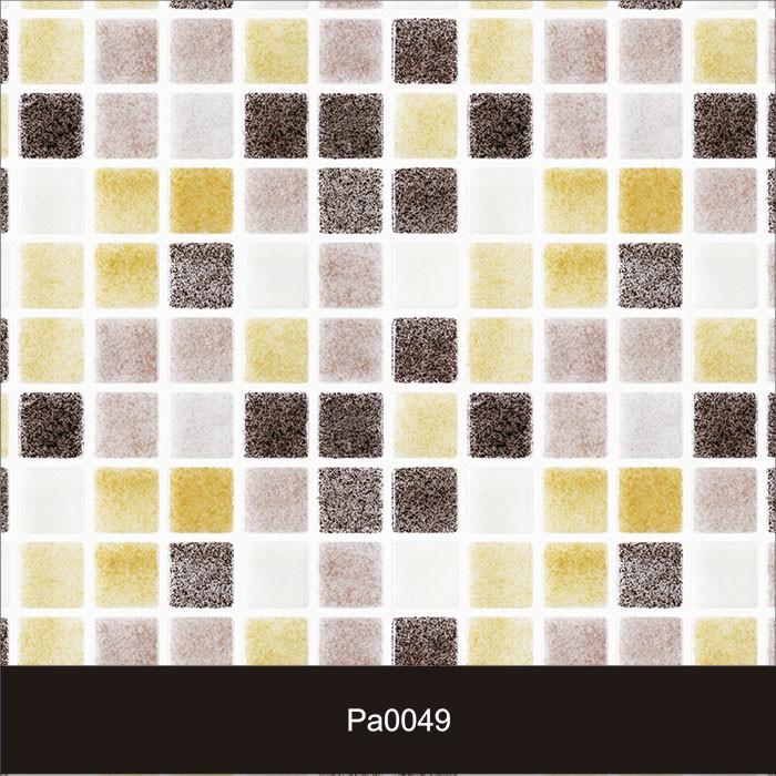 Papel de Parede Auto Adesivo Lavável Pastilha Clarinha Pa0049  - Final Decor