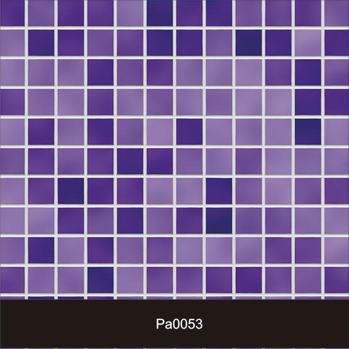 Papel de Parede Auto Adesivo Lavável Pastilha Pa0053 Violeta  - Final Decor