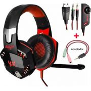 Headset Gamer Kotion Each 7.1 P/ Ps4 X Box One E Pc Com Garantia