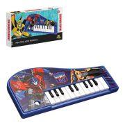 Mini Teclado Piano Musical Educativo Transformers