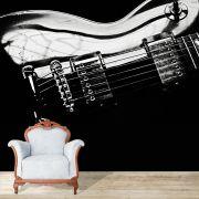Papel de Parede Adesivo, Guitarra, Som, Música
