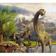 Papel de Parede Adesivo Infantil Dinossauros