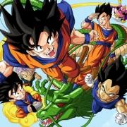 Papel de Parede Adesivo  Infantil Dragon Ball 1X1