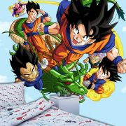 Papel de Parede Adesivo  Infantil Dragon Ball