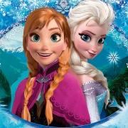 Papel de Parede Adesivo, Infantil Frozen 1X1