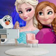 Papel de Parede Adesivo, Infantil Frozen