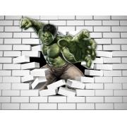 Papel De Parede Adesivo, Infantil Marvel Hulk Dos Vingadores 1X1
