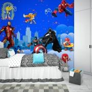 Papel De Parede Adesivo, Infantil Personagens Animados 1X1