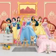 Papel de Parede Adesivo, Infantil Princesas Castelo 1X1