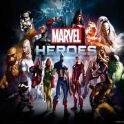 Papel De Parede Adesivo, Infantil Vingadores Marvel Heroes 1X1