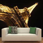 Papel de Parede Adesivo Personalizado, Torre Eiffel, Paris, França