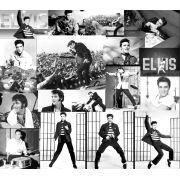Papel de Parede Auto Adesivo Elvis