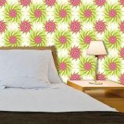 Papel de Parede Adesivo Lavável Floral Gira Gira F0146