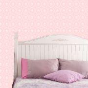 Papel de Parede Lavável Clássico Arabesco ca0017 Elegante Rosa