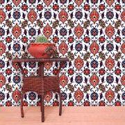 Papel de Parede Lavável Clássico Arabesco Mosaico CA0047