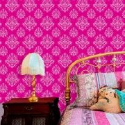 Papel de Parede Lavável Clássico Arabesco ca0079 Pink