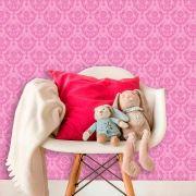 Papel de Parede Lavável Clássico Arabesco ca0093 Pink
