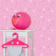 Papel de Parede Infantil Auto Adesivo Lavável 0049 baby Girl