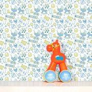 Papel de Parede Infantil Auto Adesivo Lavável Baby Baby Ki0057