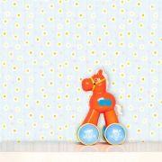 Papel de Parede Infantil Auto Adesivo Lavável 0121 Margarida