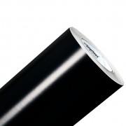 Vinil Adesivo Preto Brilho 0,50 cm largura x 1,0 metro de comprimento.