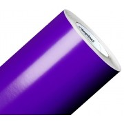 Vinil Adesivo Violeta 0,50 cm largura x 1,0 metro de comprimento.