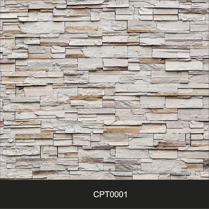 Papel de Parede Adesivo Lavável Pedra Canjiquinha Tijolo CPT0001  - Final Decor