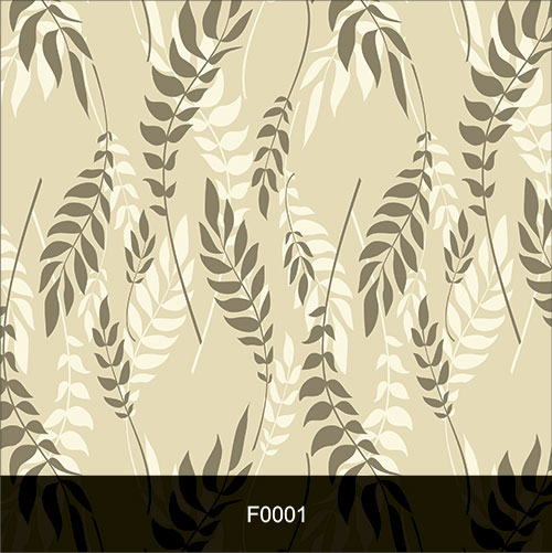 Papel de Parede Adesivo Lavável f0001 Floral Samambaia  - Final Decor