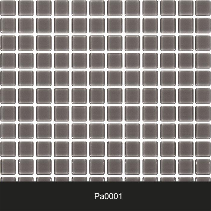 Papel de Parede Auto Adesivo Lavável Pastilha Cinza  Pa0001  - Final Decor