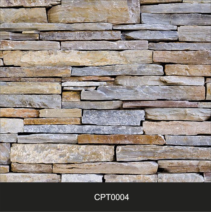 Papel de Parede Adesivo Lavável Pedra Canjiquinha Tijolo CPT0004  - Final Decor