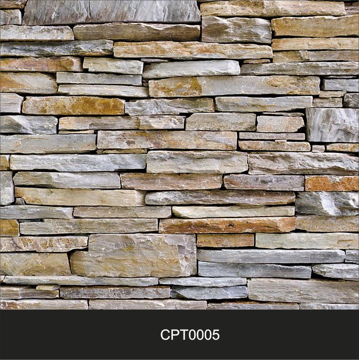 Papel de Parede Adesivo Lavável Pedra Canjiquinha Tijolo cpt0005  - Final Decor