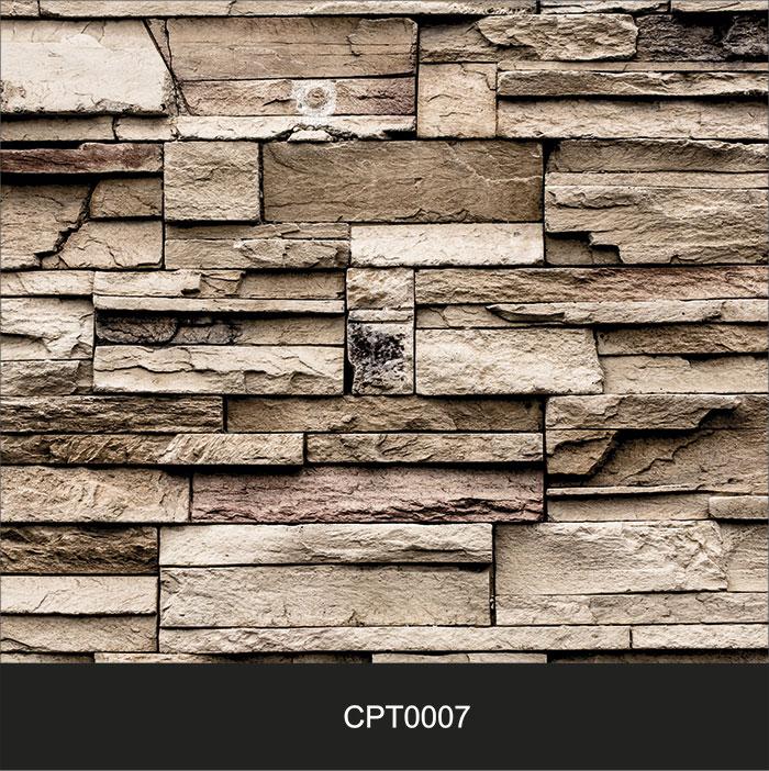 Papel de Parede Adesivo Lavável Pedra Canjiquinha Tijolo cpt0007  - Final Decor