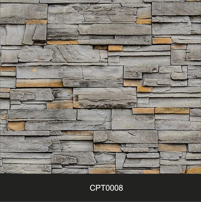 Papel de Parede Adesivo Lavável Pedra Canjiquinha Tijolo CPT0008  - Final Decor