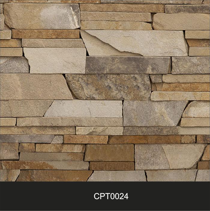 Papel de Parede Adesivo Lavável Pedra Canjiquinha Tijolo cpt0024  - Final Decor