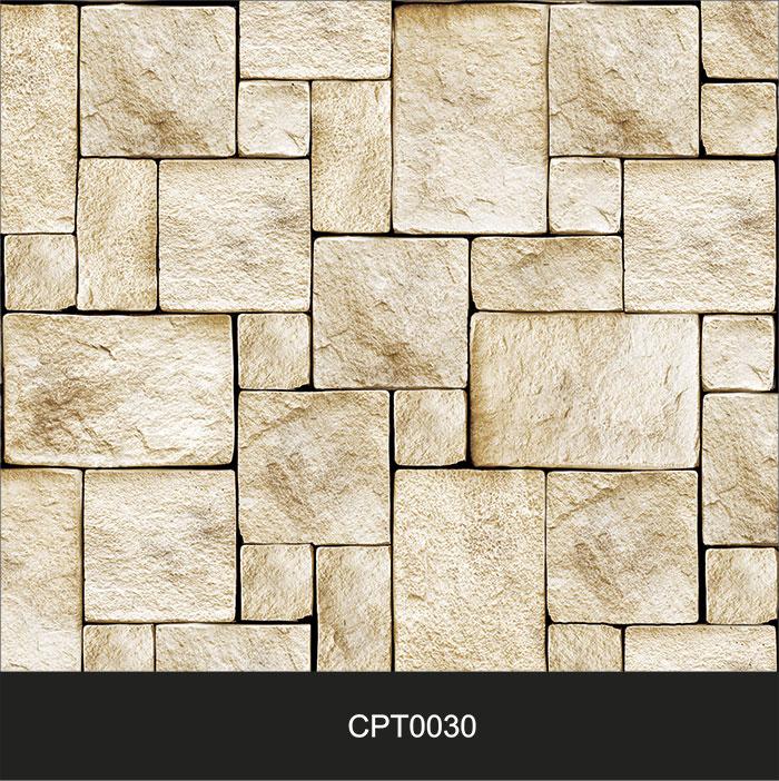 Papel de Parede Adesivo Lavável Pedra Canjiquinha Tijolo cpt0030  - Final Decor