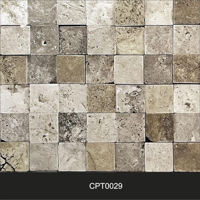 Papel de Parede Adesivo Lavável Pedra Canjiquinha Tijolo cpt0029  - Final Decor