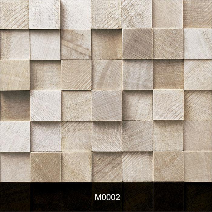 Papel de Parede Adesivo Madeira 0002 Cubos Quadrados  - Final Decor