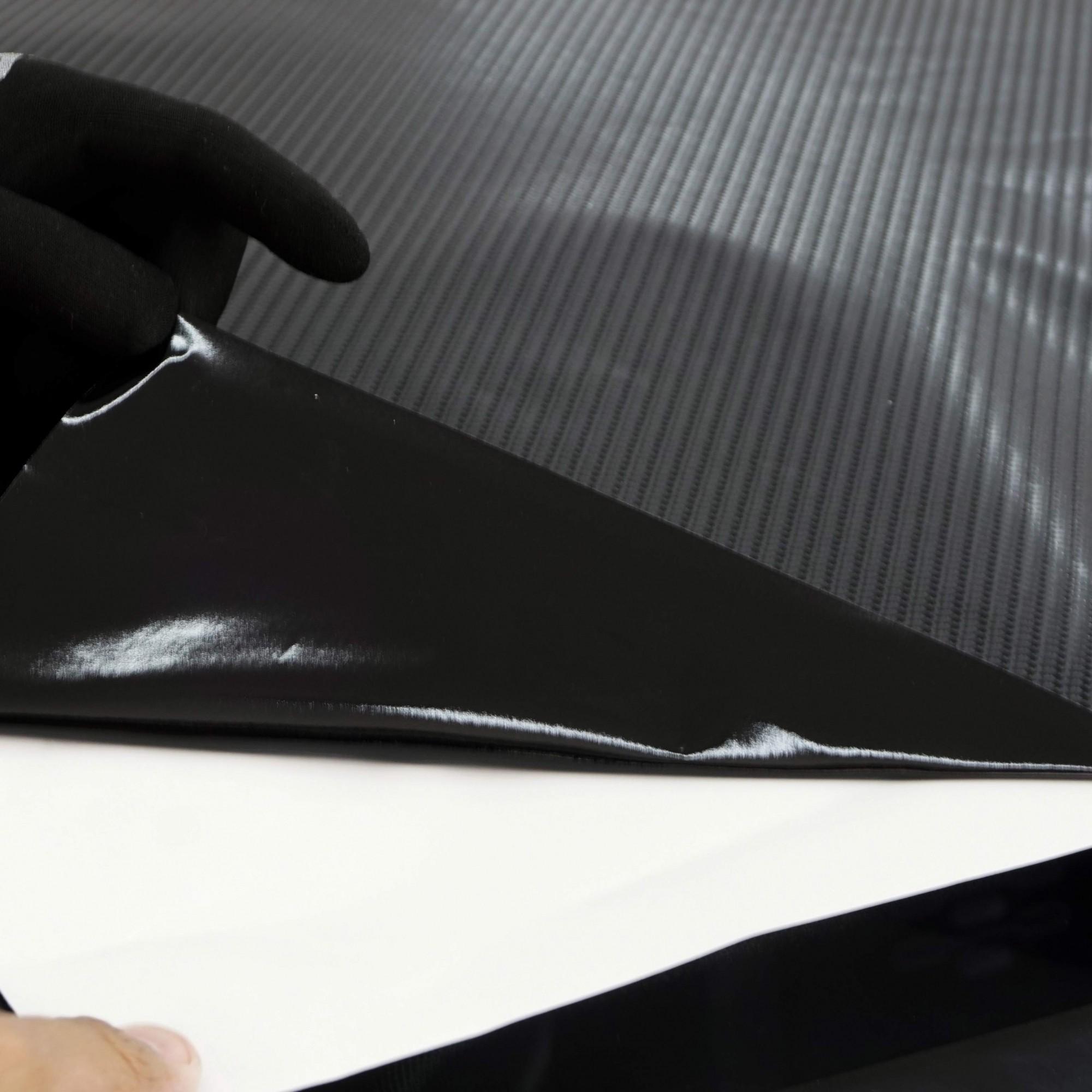 Adesivo Fibra De Carbono 200x 70cm Envelopamento Moldável  - Final Decor