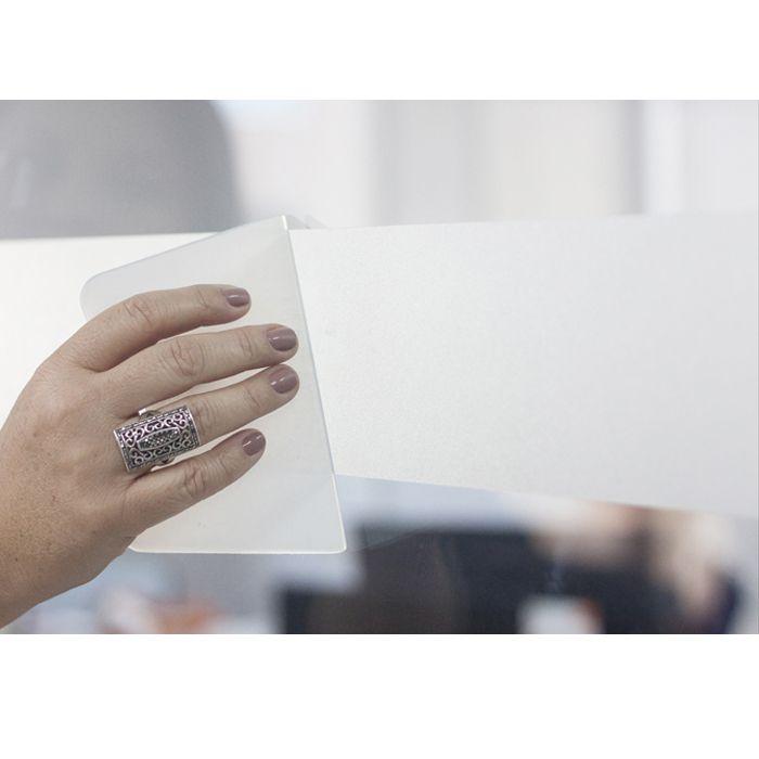Adesivo Jateado Faixa Sinalização Portas Blindex Box Vidro  - Final Decor