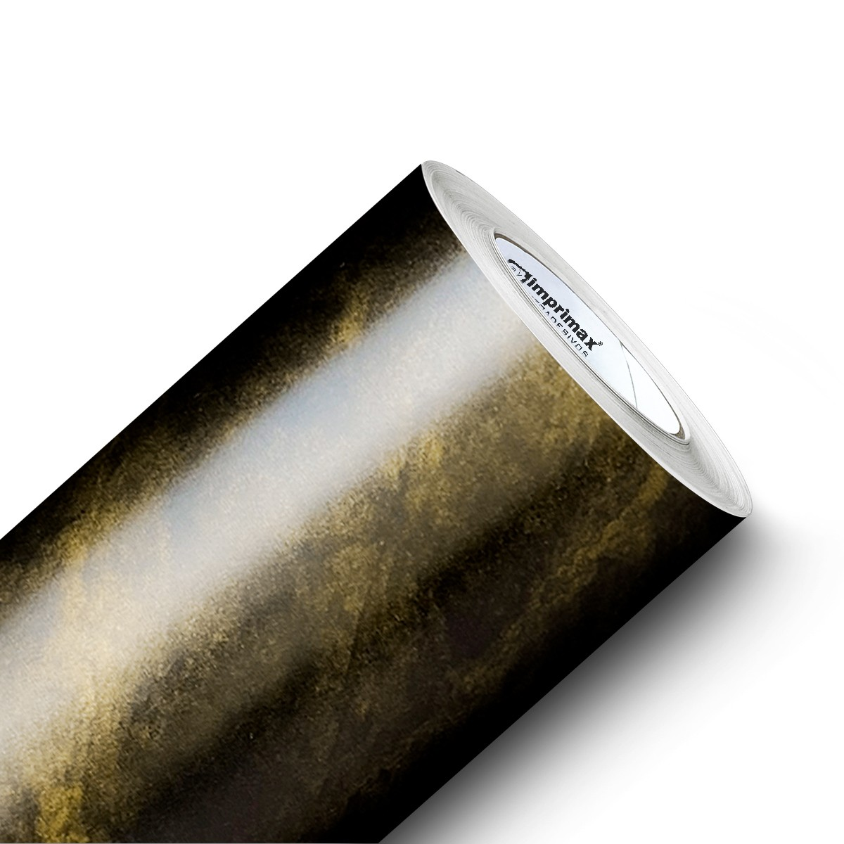 Adesivo Para Móveis Mármore Gold Black 0,61 X 2,50m  - Final Decor