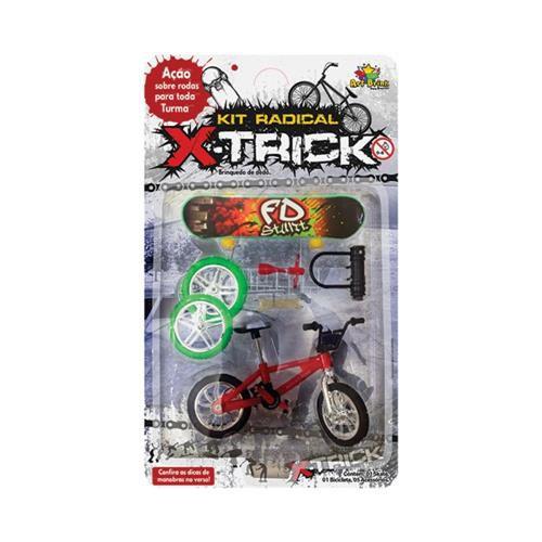 Bicicleta e Skate de Dedo com Acessórios - Art Brink  - Final Decor