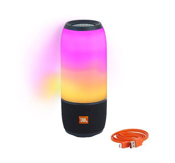 Caixa de Som Bluetooth Portátil JBL Pulse 3 - 20W Ativa USB com Microfone à Prova de Água  - Final Decor
