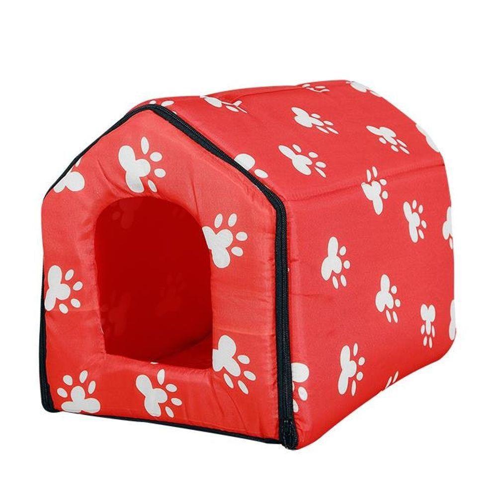 Casa Casinha Cama Pet Cachorro e Gato Tamanho M (38,5cm X 30cm X 31cm)  - Final Decor