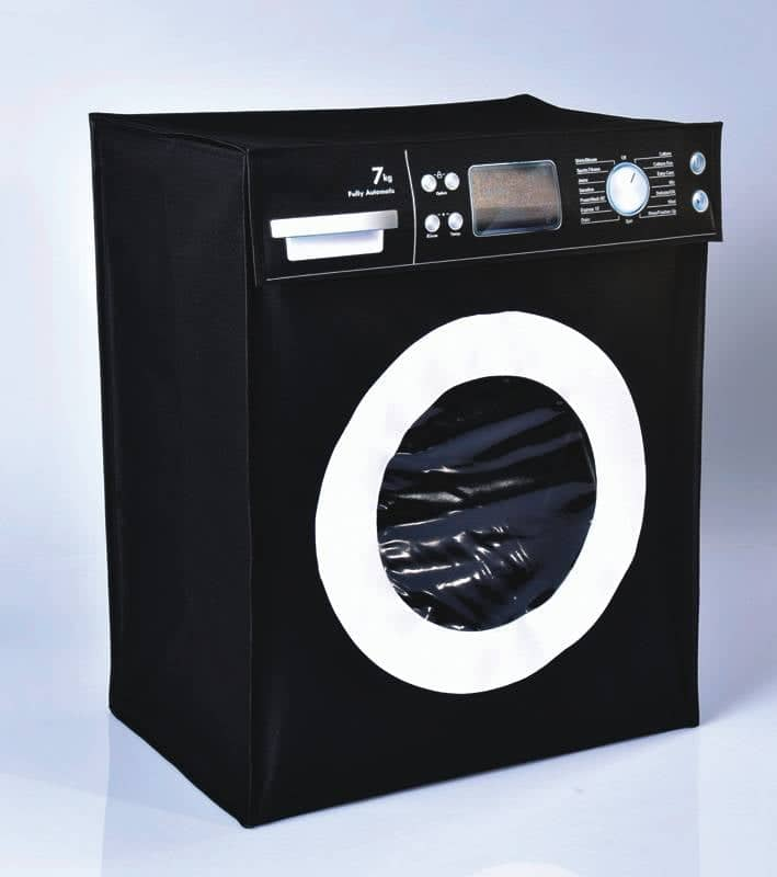 Cesto de Roupa Máquina de Lavar Divertido  - Final Decor