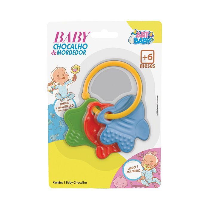 Chocalho Para Bebe Fundo do Mar - Art Baby  - Final Decor