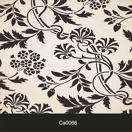 Papel de Parede Lavável Clássico Arabesco Delicado Claro CA0066  - Final Decor