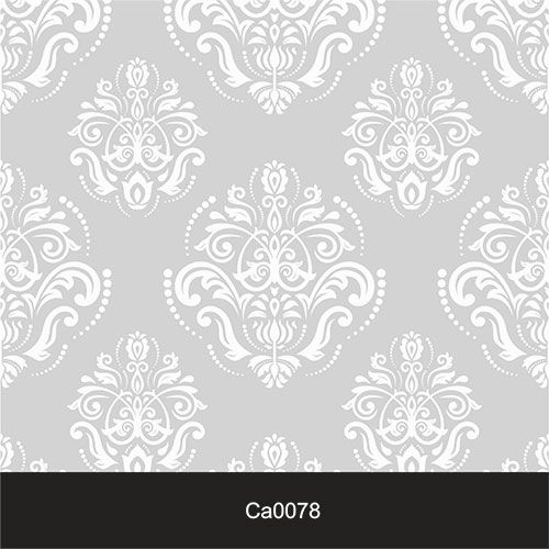 Papel de Parede Lavável Clássico Arabesco ca0078 Cinza Claro  - Final Decor
