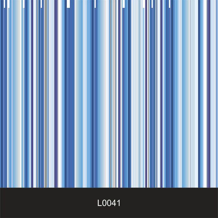 Papel de Parede Auto Adesivo Lavável  Listrado 0041 Tons de Azul  - Final Decor